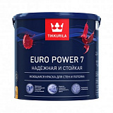Купить tikkurila euro power 7 краска для стен