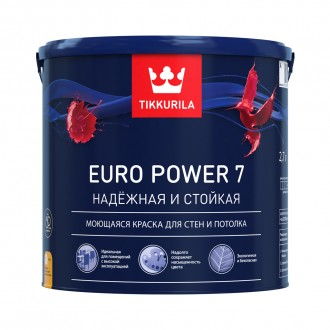 Tikkurila Euro Power 7 краска для стен (2,7 л)