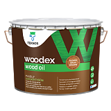 Купить teknos woodex wood oil масло для дерева, коричневое